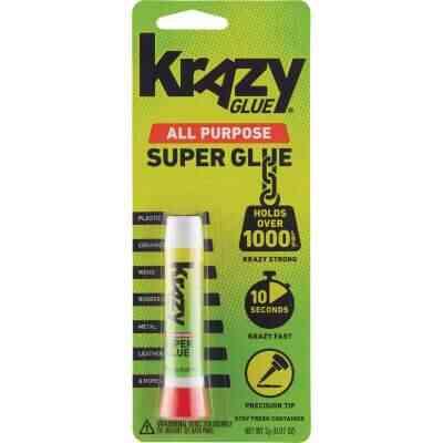 Krazy Glue 0.07 Oz. Liquid All-Purpose Super Glue