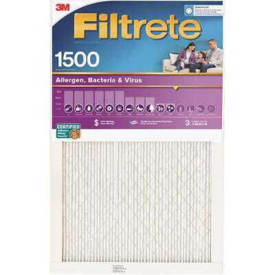 3M Filtrete 12 In. x 36 In. x 1 In. Ultra Allergen Healthy Living 1550 MPR Furnace Filter