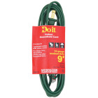 Do it 9 Ft. 16/2 Green Cube Tap Extension Cord Image 4