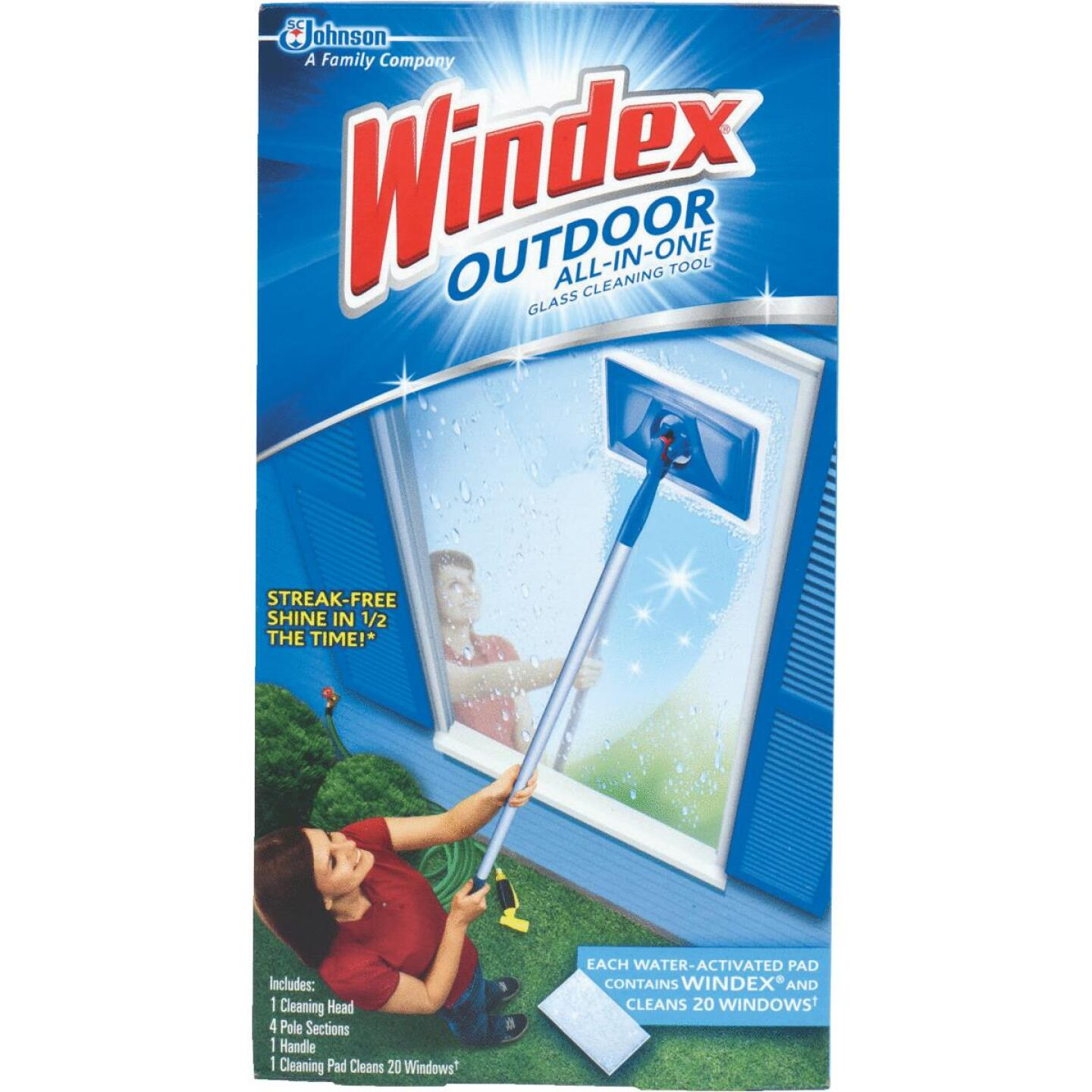 Windex Outdoor All-in-One Glass Cleaning Tool Kit Image 1
