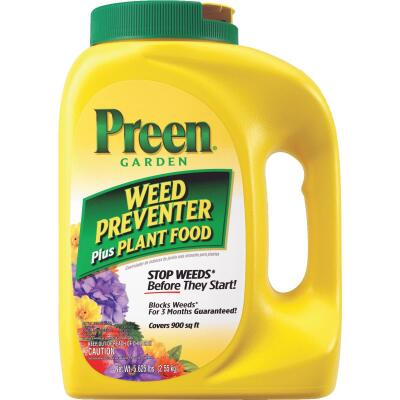Preen 5.625 Lb. Ready To Use Granules Garden Weed Preventer Plus Plant Food