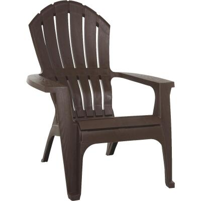 Adams RealComfort Earth Brown Resin Adirondack Chair