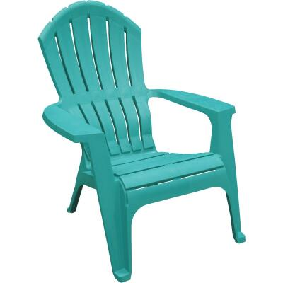 Adams RealComfort Teal Resin Adirondack Chair