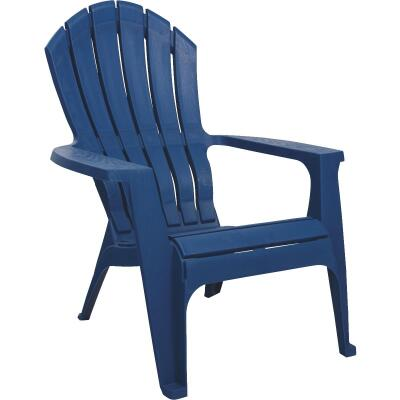 Adams RealComfort Patriotic Blue Resin Adirondack Chair